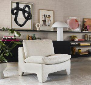 HKliving retro loungestoel