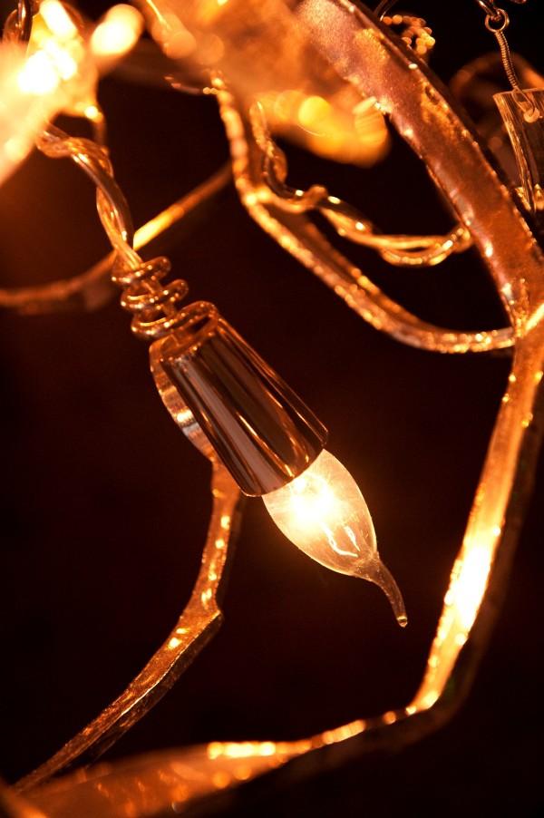Detail Delphinium lamp Brand Van Egmond