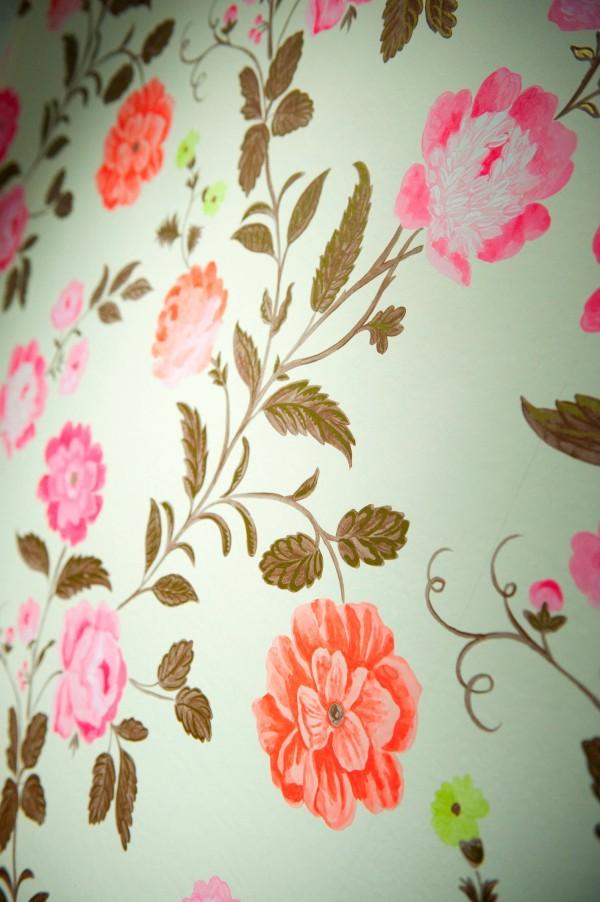 Detail bloembehang