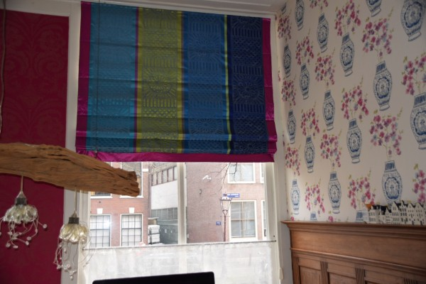 Blinds en behang Designers Guild