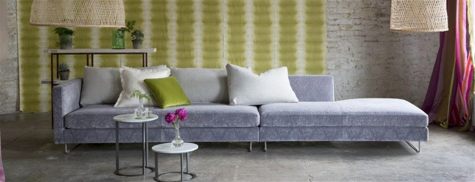 Bank Joseph in velours Designers Guild