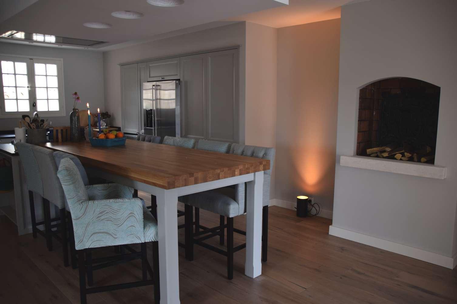 Inspiratie keukens ikea - Tafel centraal eiland ...