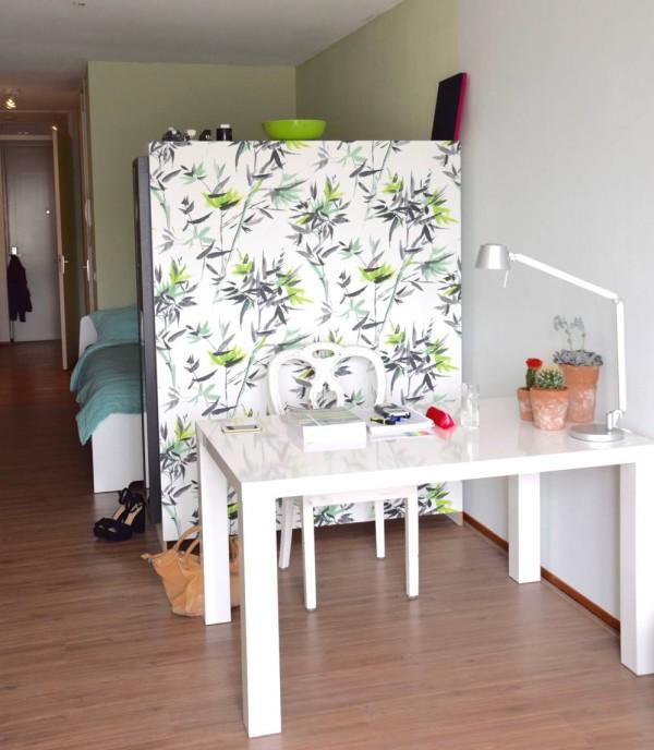 De simpelste linnenkast van Ikea als roomdivider