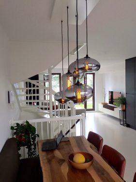 By Eve glazen bulb lights