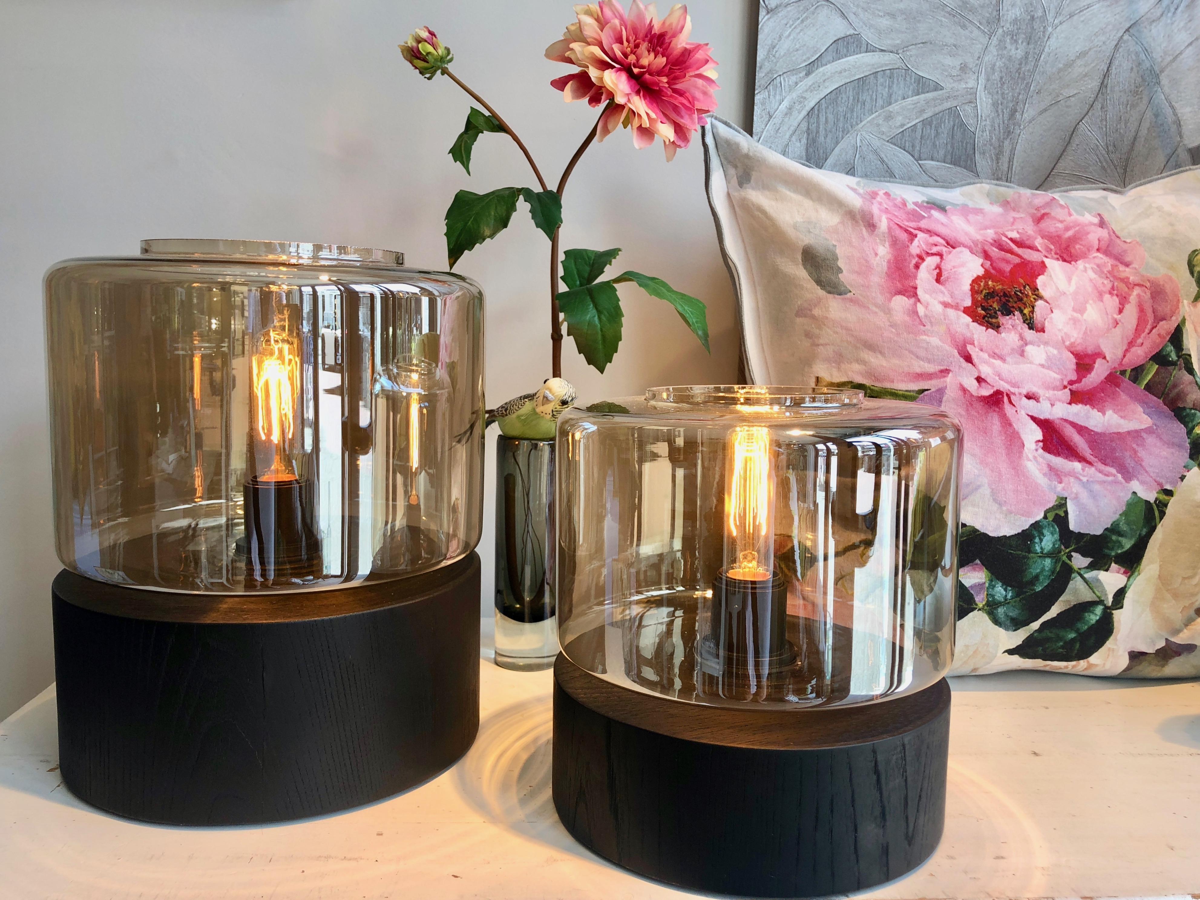 By Eve glazen lamp