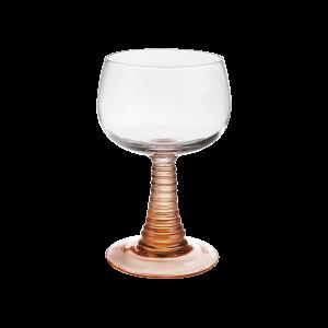 HK Living glazen wijnglas