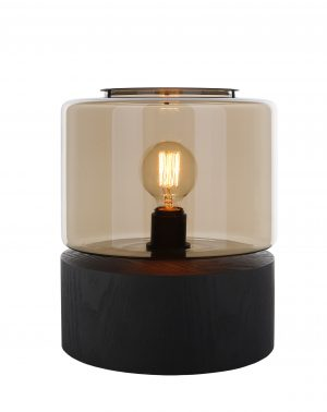 By Eve   Drumwood Tafellamp   Bulblight